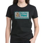 Find a New Friend Women's Dark T-Shirt