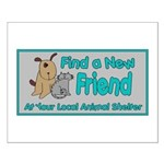 Find a New Friend Small Poster