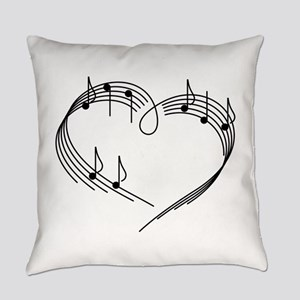 Music Lover Everyday Pillow