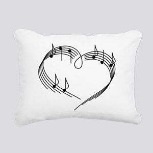 Music Lover Rectangular Canvas Pillow