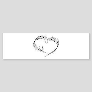 Music Lover Bumper Sticker