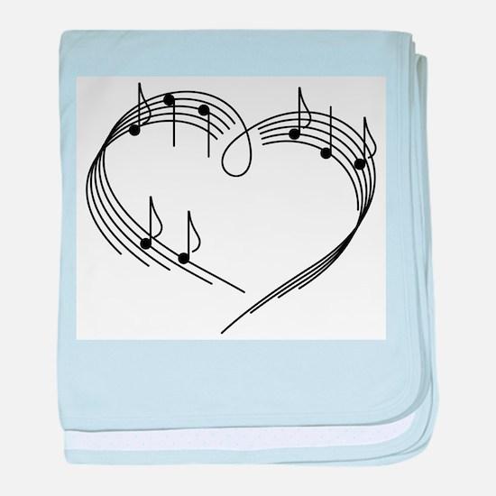 Music Lover baby blanket
