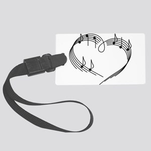 Music Lover Large Luggage Tag