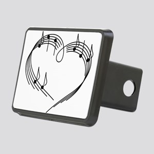 Music Lover Rectangular Hitch Cover