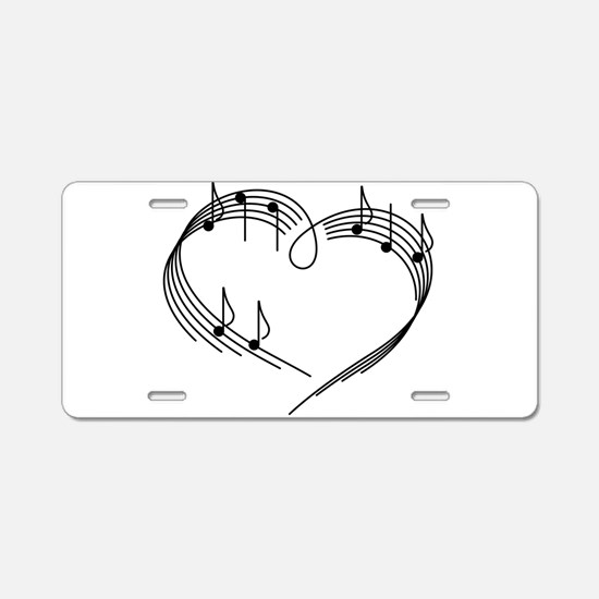 Music Lover Aluminum License Plate
