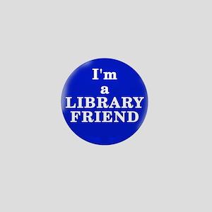 Library Friend Mini Button