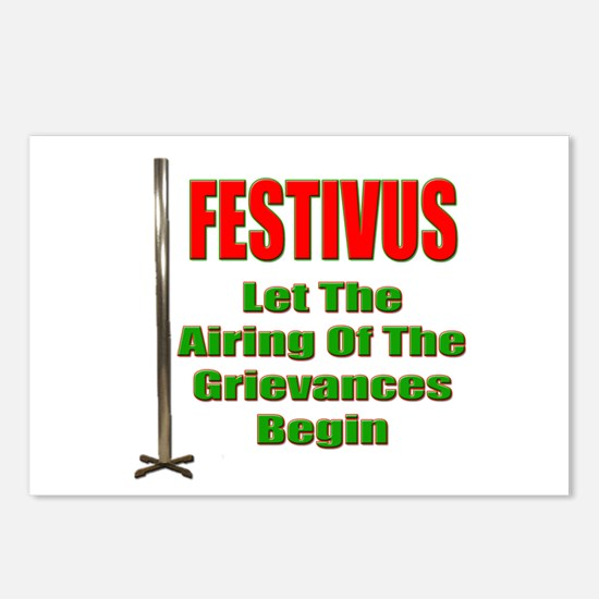FESTIVUS™ - Airing Of The Grievances Postcards (Pa