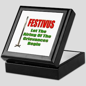 FESTIVUS™ - Airing Of The Grievances Keepsake Box