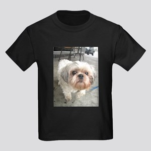 small dog at cafe T-Shirt