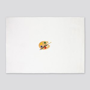 Artist Palette 5'x7'Area Rug