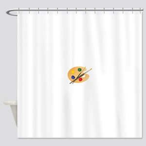 Artist Palette Shower Curtain