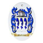 McGilroy Oval Ornament