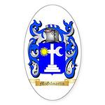 McGilmartin Sticker (Oval 10 pk)