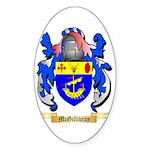 McGillivray Sticker (Oval 50 pk)