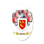 McGill Oval Car Magnet