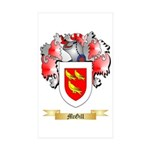 McGill Sticker (Rectangle 10 pk)