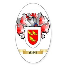 McGill Sticker (Oval)