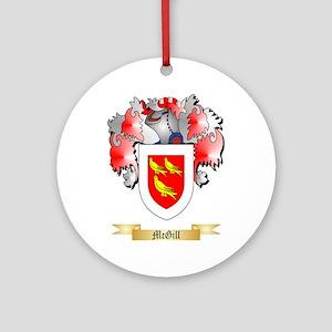 McGill Round Ornament