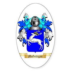 McGettigan Sticker (Oval)