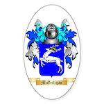 McGettigan Sticker (Oval 50 pk)