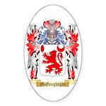 McGeoghegan Sticker (Oval 50 pk)