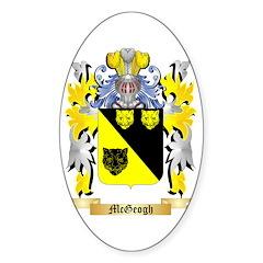 McGeogh Sticker (Oval 50 pk)