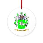 McGaughey Round Ornament