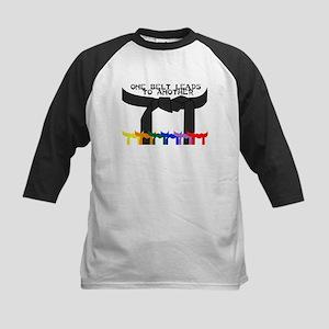Taekwondo Kids Baseball Jersey