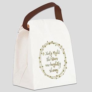 Brightly Shining Canvas Lunch Bag