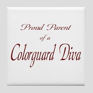Proud Parent Tile Coaster