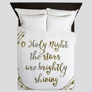 Brightly Shining Queen Duvet