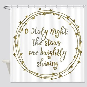 Brightly Shining Shower Curtain