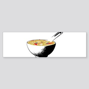 shark fin soup Bumper Sticker