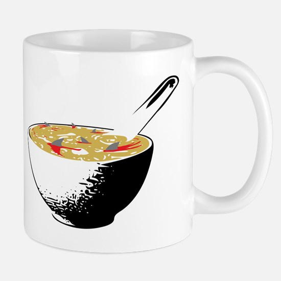 shark fin soup Mugs