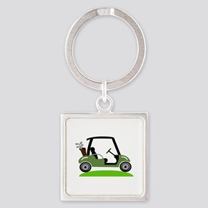 Golf Cart Keychains