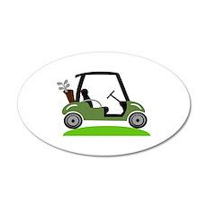 Golf Cart Wall Decal