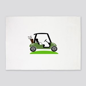Golf Cart 5'x7'Area Rug