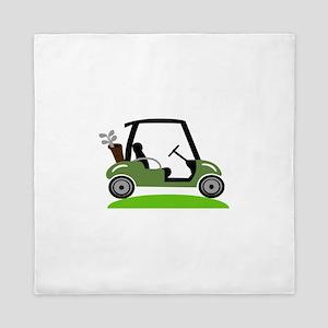 Golf Cart Queen Duvet