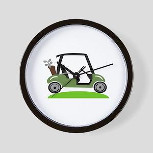 Golf Cart Wall Clock