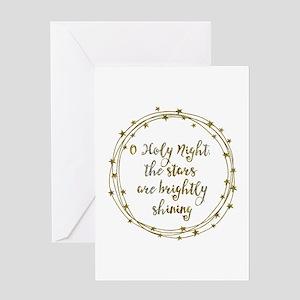 Brightly Shining Greeting Cards
