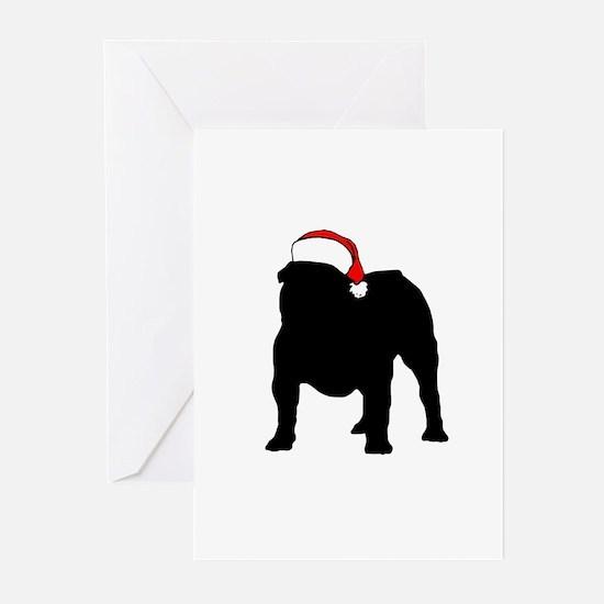 Cute English bulldog Greeting Cards (Pk of 20)
