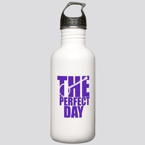 Purple Banjo Water Bottle