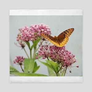 Fritillary Butterfly Queen Duvet