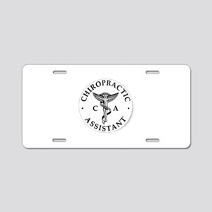 Chiropractic Assistant Aluminum License Plate