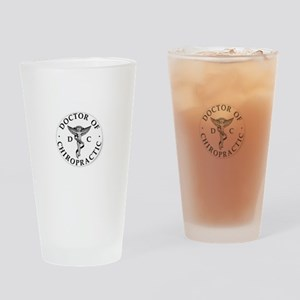 Doctor of Chiropractic Drinking Glass