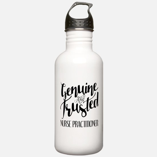 Nurse Practitioner Gen Water Bottle