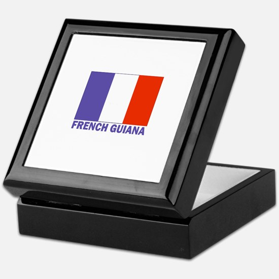 French Guiana Keepsake Box
