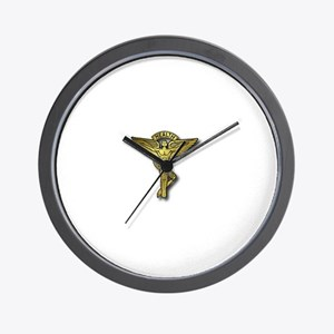 Chiropractic Health Gold Wall Clock