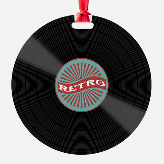 Cute Records Ornament