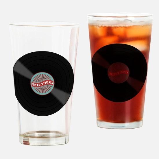 Unique Album Drinking Glass